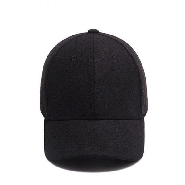 High Quality Solid Winter Baseball Cap Men Bone Trucker Hat Gorras Planas Snapback Hip Hop Dad Cap For Winter Size 55-60cm 10