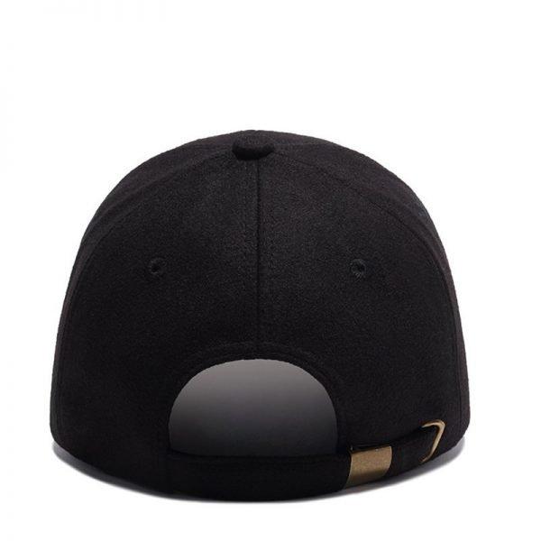High Quality Solid Winter Baseball Cap Men Bone Trucker Hat Gorras Planas Snapback Hip Hop Dad Cap For Winter Size 55-60cm 12