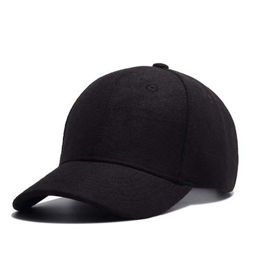 High Quality Solid Winter Baseball Cap Men Bone Trucker Hat Gorras Planas Snapback Hip Hop Dad Cap For Winter Size 55-60cm 14