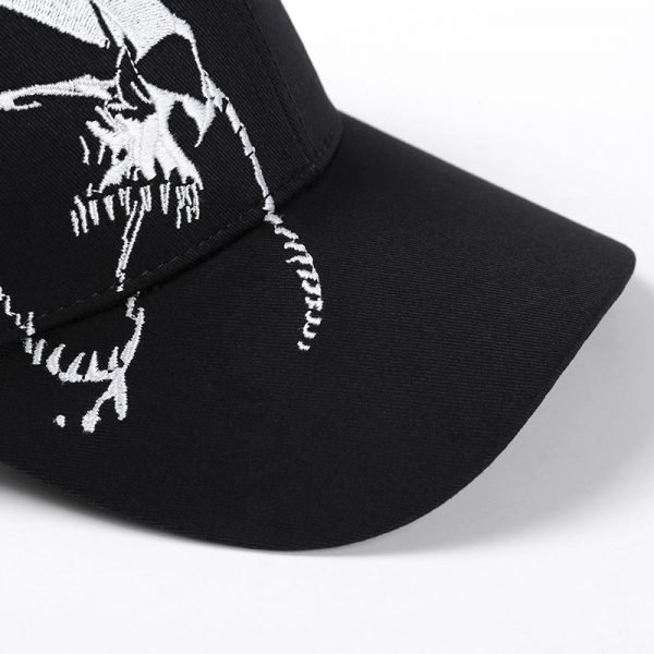 High Quality Unisex 100% Cotton Outdoor Baseball Cap Skull Embroidery Snapback Fashion Sports Hats For Men & Women Cap 10
