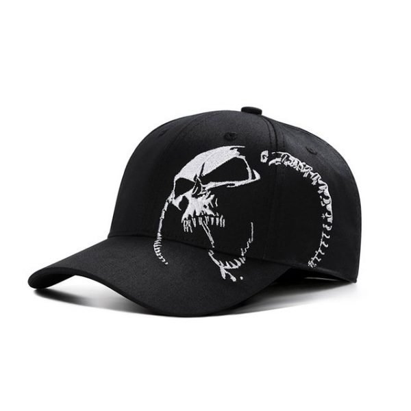 High Quality Unisex 100% Cotton Outdoor Baseball Cap Skull Embroidery Snapback Fashion Sports Hats For Men & Women Cap 14