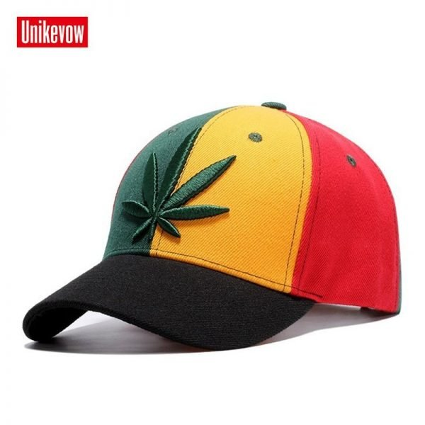 High quality Baseball Cap Unisex Sports leisure hats leaf embroidery sport cap for men and women hip hop hats 8