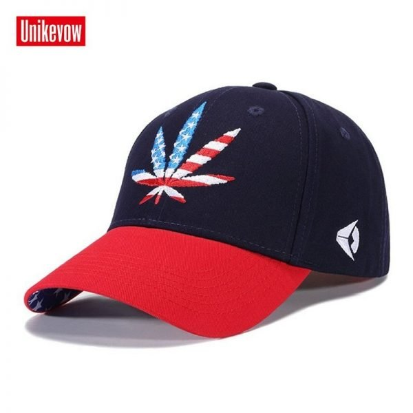 High quality Baseball Cap Unisex Sports leisure hats leaf embroidery sport cap for men and women hip hop hats 10