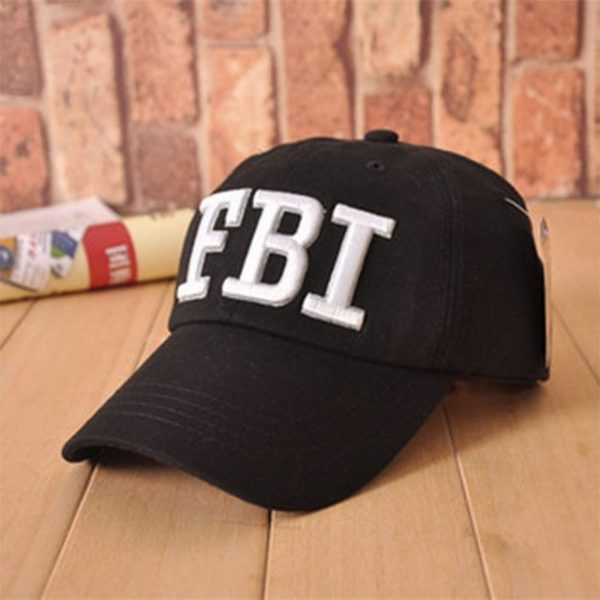 High quality Wholesale Retail 1pc free shipping voron Hat & Cap FBI Fashion Leisure embroidery CAPS Unisex Baseball Cap 16