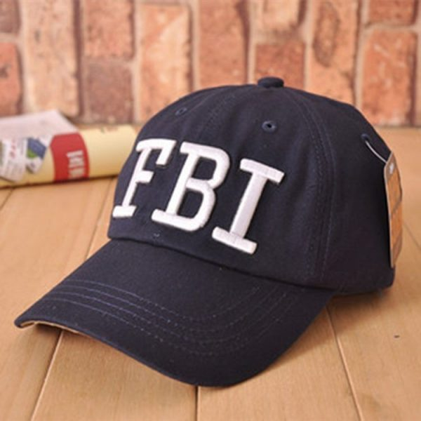 High quality Wholesale Retail 1pc free shipping voron Hat & Cap FBI Fashion Leisure embroidery CAPS Unisex Baseball Cap 6