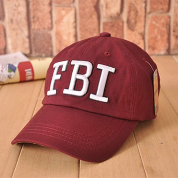 High quality Wholesale Retail 1pc free shipping voron Hat & Cap FBI Fashion Leisure embroidery CAPS Unisex Baseball Cap 8