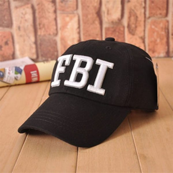 High quality Wholesale Retail 1pc free shipping voron Hat & Cap FBI Fashion Leisure embroidery CAPS Unisex Baseball Cap 2