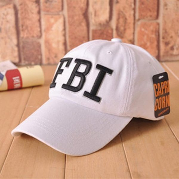 High quality Wholesale Retail 1pc free shipping voron Hat & Cap FBI Fashion Leisure embroidery CAPS Unisex Baseball Cap 14