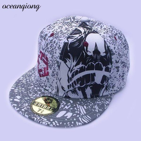 Hip Hop Doodle Baseball Cap Fashion Snapback Caps Women Baseball Caps Men Fitted Cap Street Dance Rocker Punk Hats 4