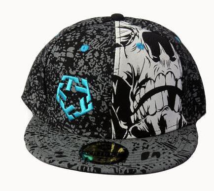 Hip Hop Doodle Baseball Cap Fashion Snapback Caps Women Baseball Caps Men Fitted Cap Street Dance Rocker Punk Hats 16