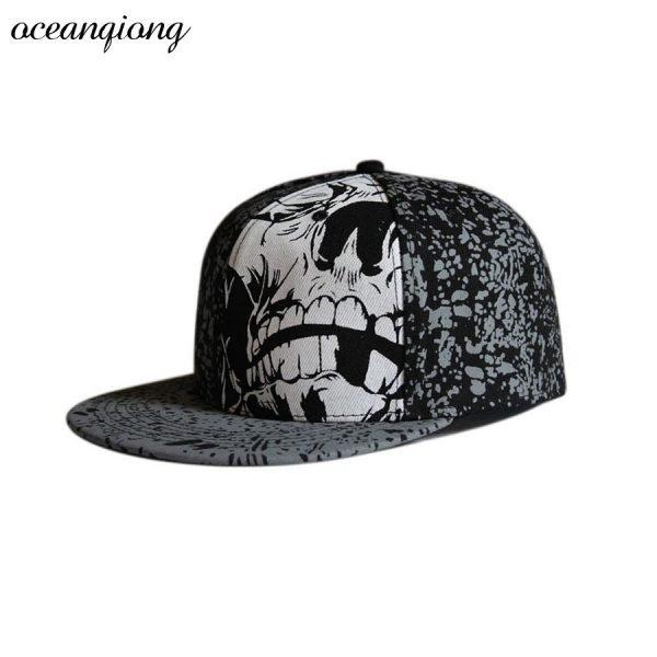 Hip Hop Doodle Baseball Cap Fashion Snapback Caps Women Baseball Caps Men Fitted Cap Street Dance Rocker Punk Hats 6