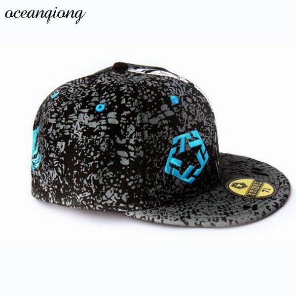 Hip Hop Doodle Baseball Cap Fashion Snapback Caps Women Baseball Caps Men Fitted Cap Street Dance Rocker Punk Hats 8