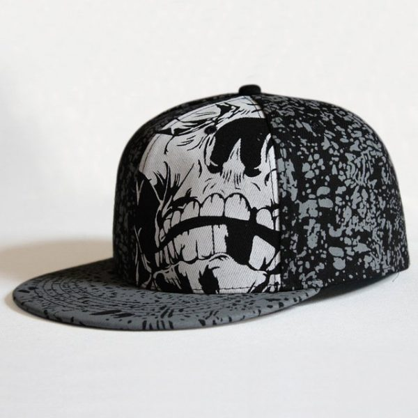 Hip Hop Doodle Baseball Cap Fashion Snapback Caps Women Baseball Caps Men Fitted Cap Street Dance Rocker Punk Hats 14