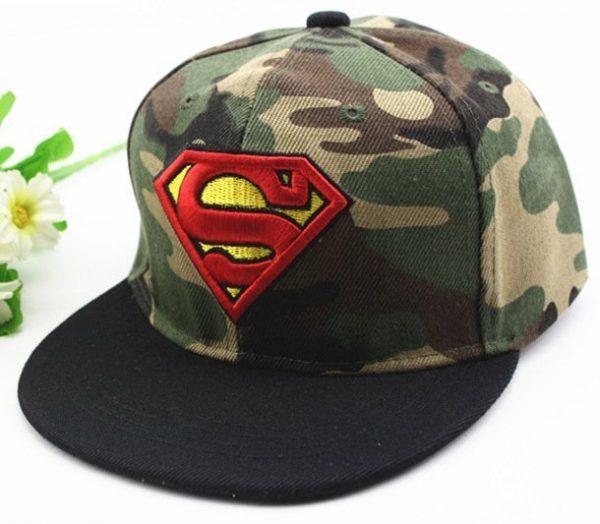 Hot Sale Children Cartoon Colorful  Superman Batman Adjustable Kids Baseball Snapback Cap  Unisex  Hip Hop Hats 38