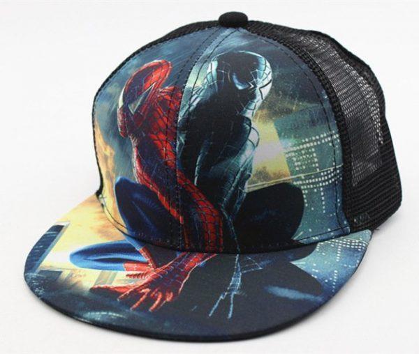 Hot Sale Children Cartoon Colorful Superman Batman Adjustable Kids Baseball Snapback Cap Unisex Hip Hop Hats 40