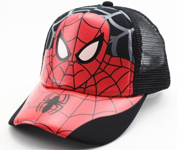 Hot Sale Children Cartoon Colorful Superman Batman Adjustable Kids Baseball Snapback Cap Unisex Hip Hop Hats 20