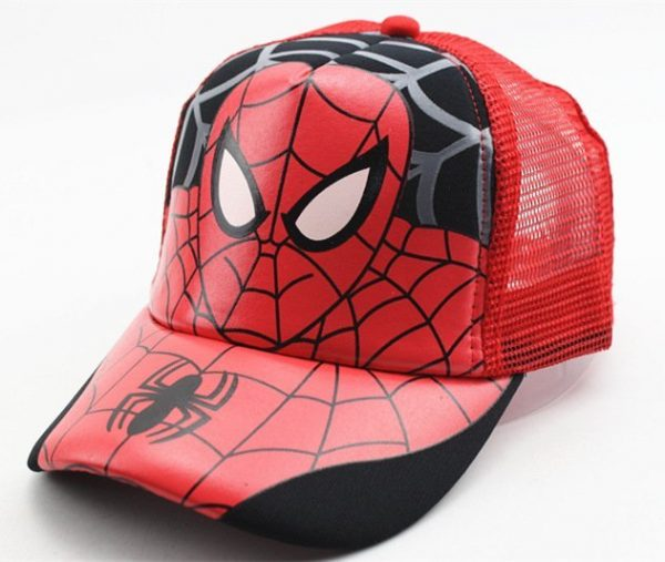 Hot Sale Children Cartoon Colorful  Superman Batman Adjustable Kids Baseball Snapback Cap  Unisex  Hip Hop Hats 12
