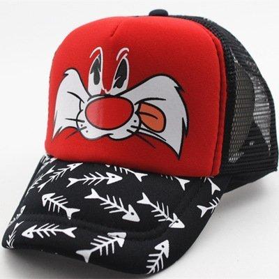 Hot Sale Snapback Summer Cartoon Baseball Cap Kids Baby&Girls Adjustable Caps Fashion Children Hip-Hop Hat 42