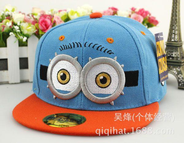 Hot Sale Snapback Summer Cartoon Baseball Cap Kids Baby&Girls Adjustable Caps Fashion Children Hip-Hop Hat 18