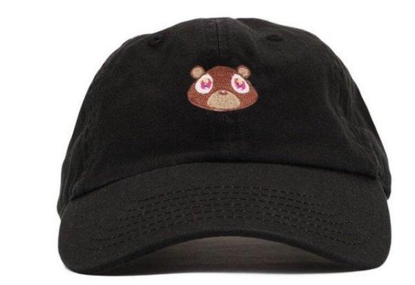 Kanye West Ye Bear Dad Hat Lovely Baseball Cap Summer For Men Women Snapback Caps Unisex Exclusive Release Hip Hop Hot Style Hat 16