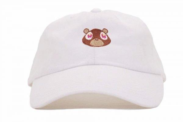 Kanye West Ye Bear Dad Hat Lovely Baseball Cap Summer For Men Women Snapback Caps Unisex Exclusive Release Hip Hop Hot Style Hat 6