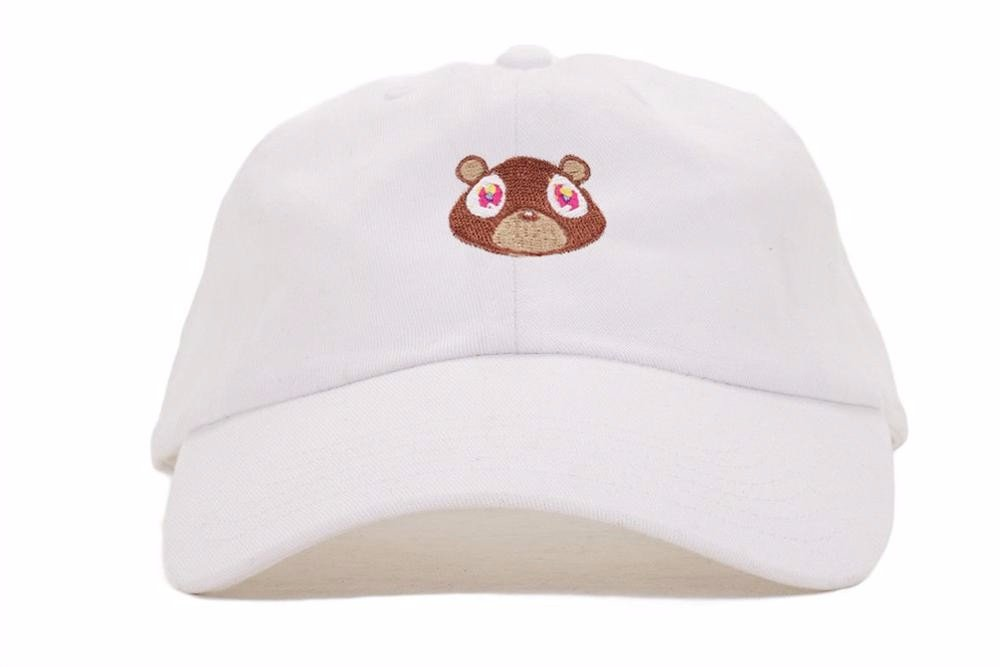 Kanye West Ye Bear Dad Hat Lovely Baseball Cap Summer For Men Women Snapback Caps Unisex Exclusive Release Hip Hop Hot Style Hat 5