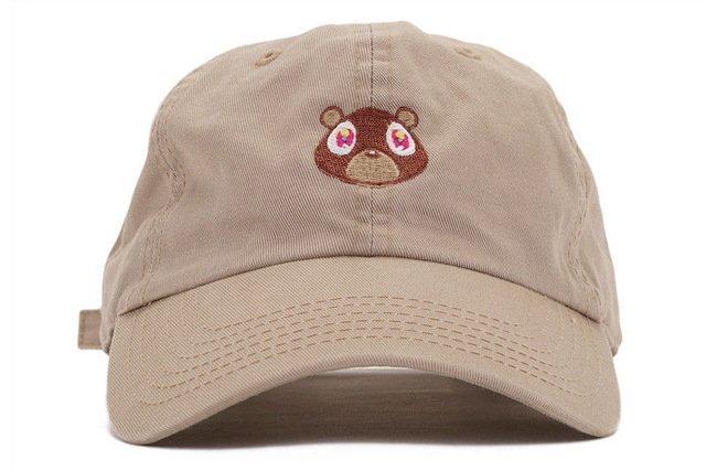 Kanye West Ye Bear Dad Hat Lovely Baseball Cap Summer For Men Women Snapback Caps Unisex Exclusive Release Hip Hop Hot Style Hat 17