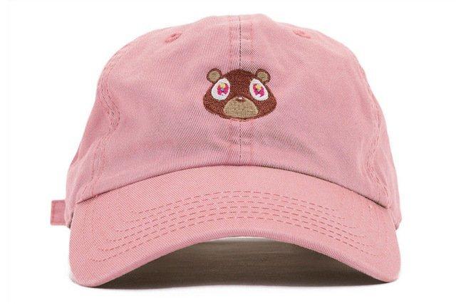 Kanye West Ye Bear Dad Hat Lovely Baseball Cap Summer For Men Women Snapback Caps Unisex Exclusive Release Hip Hop Hot Style Hat 19