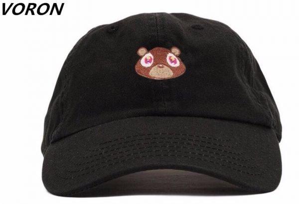 Kanye West Ye Bear Dad Hat Lovely Baseball Cap Summer For Men Women Snapback Caps Unisex Exclusive Release Hip Hop Hot Style Hat 2