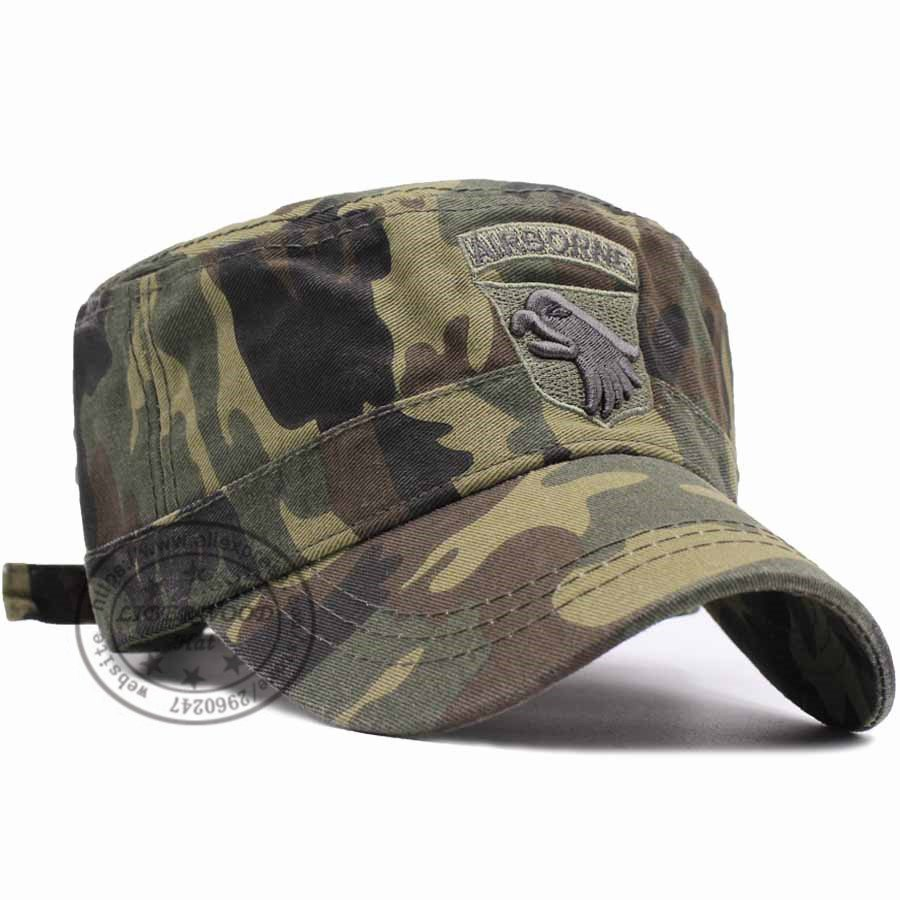 Unisex Hip Hop Flat Baseball Caps Hats Army Camouflage Men Women Tactical Cap Summer Trucker Cap Mesh Bonnets