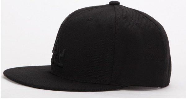 Ladybro LA Baseball Cap Men Women Snapback Cap Hat Female Male Hip Hop Bone Cap Black Cool 2017 Brand Fashion Street Adjustable 4