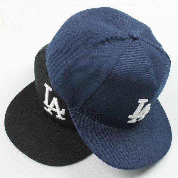 Ladybro LA Baseball Cap Men Women Snapback Cap Hat Female Male Hip Hop Bone Cap Black Cool 2017 Brand Fashion Street Adjustable 2