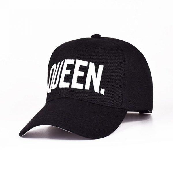MNKNCL Hot Selling King Queen Letter Embroidery Baseball Cap Couples Hip Hop Snapback Cap for Man Hat Women bone aba reta gorr 18
