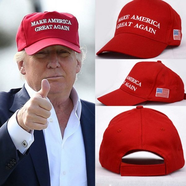 Make America Great Again Letter Print Donald Trump Hat Republican Snapback Baseball Cap Polo Hat For President USA Hat 6