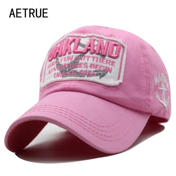 Men Snapback Caps Women Baseball Cap Oakland Brand Casquette Hats For Men Bone Letter Gorras Embroidered 2018 Baseball Cap Hats 4