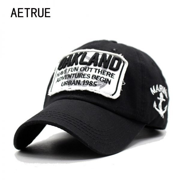 Men Snapback Caps Women Baseball Cap Oakland Brand Casquette Hats For Men Bone Letter Gorras Embroidered 2018 Baseball Cap Hats 1