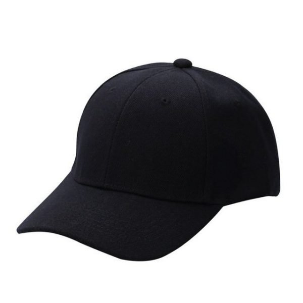 Men Women Plain Baseball Cap Unisex Curved Visor Hat Hip-Hop Adjustable Peaked Hat Visor Caps Solid Color LM93 16