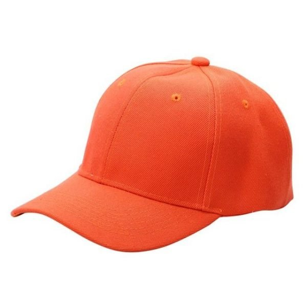 Men Women Plain Baseball Cap Unisex Curved Visor Hat Hip-Hop Adjustable Peaked Hat Visor Caps Solid Color LM93 34