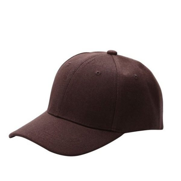 Men Women Plain Baseball Cap Unisex Curved Visor Hat Hip-Hop Adjustable Peaked Hat Visor Caps Solid Color LM93 36