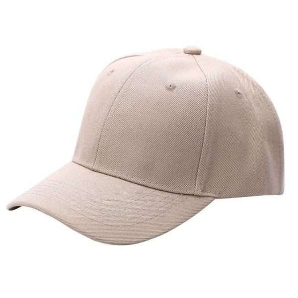 Men Women Plain Baseball Cap Unisex Curved Visor Hat Hip-Hop Adjustable Peaked Hat Visor Caps Solid Color LM93 38