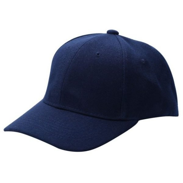 Men Women Plain Baseball Cap Unisex Curved Visor Hat Hip-Hop Adjustable Peaked Hat Visor Caps Solid Color LM93 40