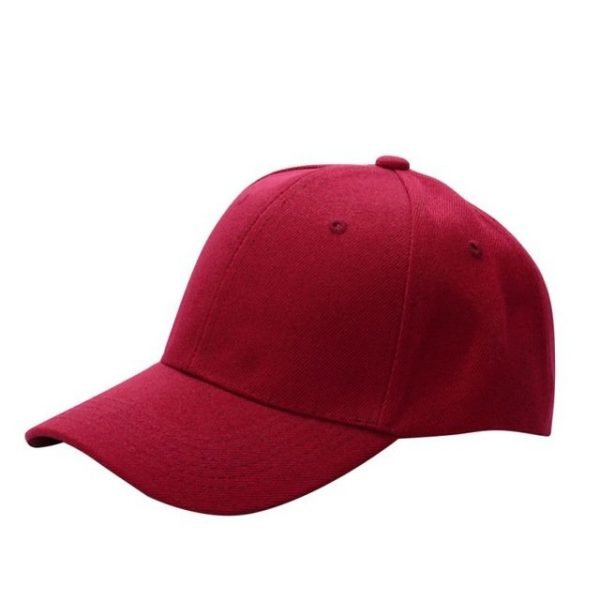 Men Women Plain Baseball Cap Unisex Curved Visor Hat Hip-Hop Adjustable Peaked Hat Visor Caps Solid Color LM93 42