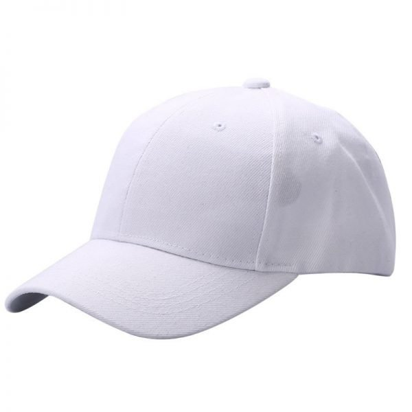 Men Women Plain Baseball Cap Unisex Curved Visor Hat Hip-Hop Adjustable Peaked Hat Visor Caps Solid Color LM93 10