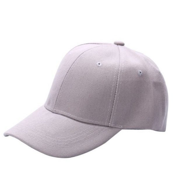 Men Women Plain Baseball Cap Unisex Curved Visor Hat Hip-Hop Adjustable Peaked Hat Visor Caps Solid Color LM93 22