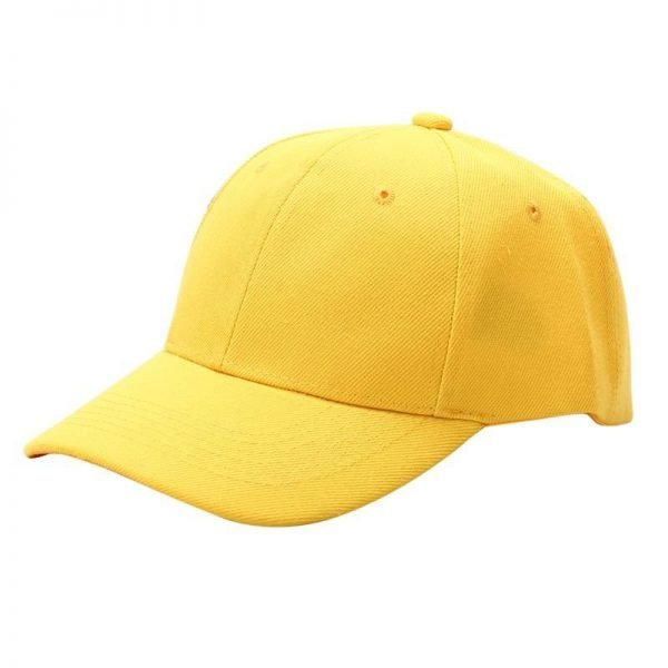 Men Women Plain Baseball Cap Unisex Curved Visor Hat Hip-Hop Adjustable Peaked Hat Visor Caps Solid Color LM93 12