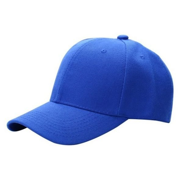Men Women Plain Baseball Cap Unisex Curved Visor Hat Hip-Hop Adjustable Peaked Hat Visor Caps Solid Color LM93 24