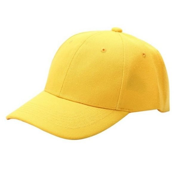 Men Women Plain Baseball Cap Unisex Curved Visor Hat Hip-Hop Adjustable Peaked Hat Visor Caps Solid Color LM93 28