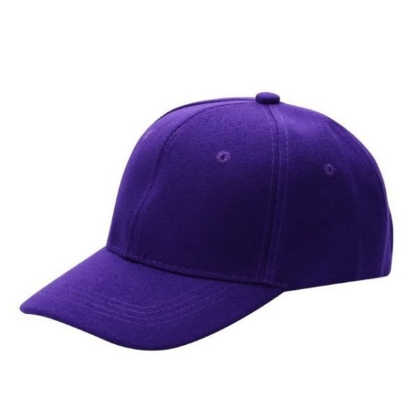 Men Women Plain Baseball Cap Unisex Curved Visor Hat Hip-Hop Adjustable Peaked Hat Visor Caps Solid Color LM93 32