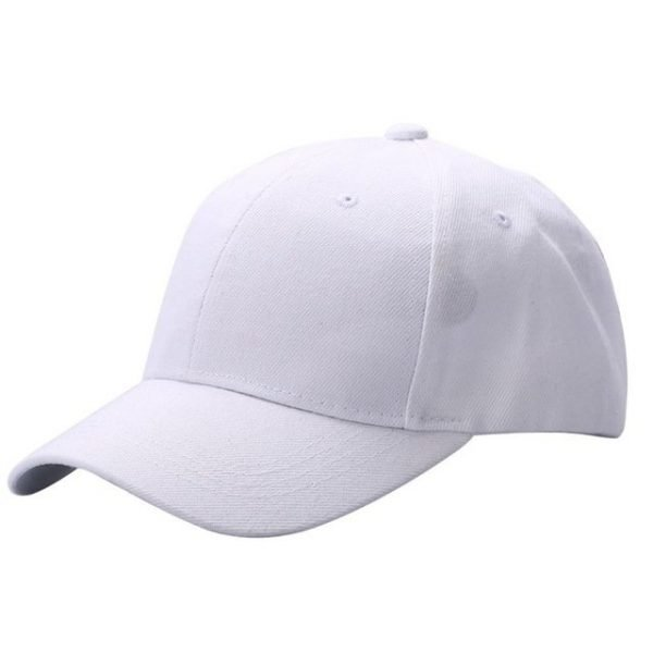 Men Women Plain Baseball Cap Unisex Curved Visor Hat Hip-Hop Adjustable Peaked Hat Visor Caps Solid Color LM93 14