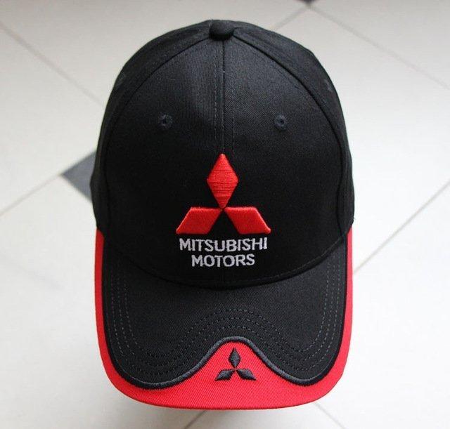 New 3D Logo Mitsubishi Hat Car Caps Motogp Moto Racing F1 Baseball Cap Men Women Adjustable Casual Trucker Hat Wholesale Retail 15